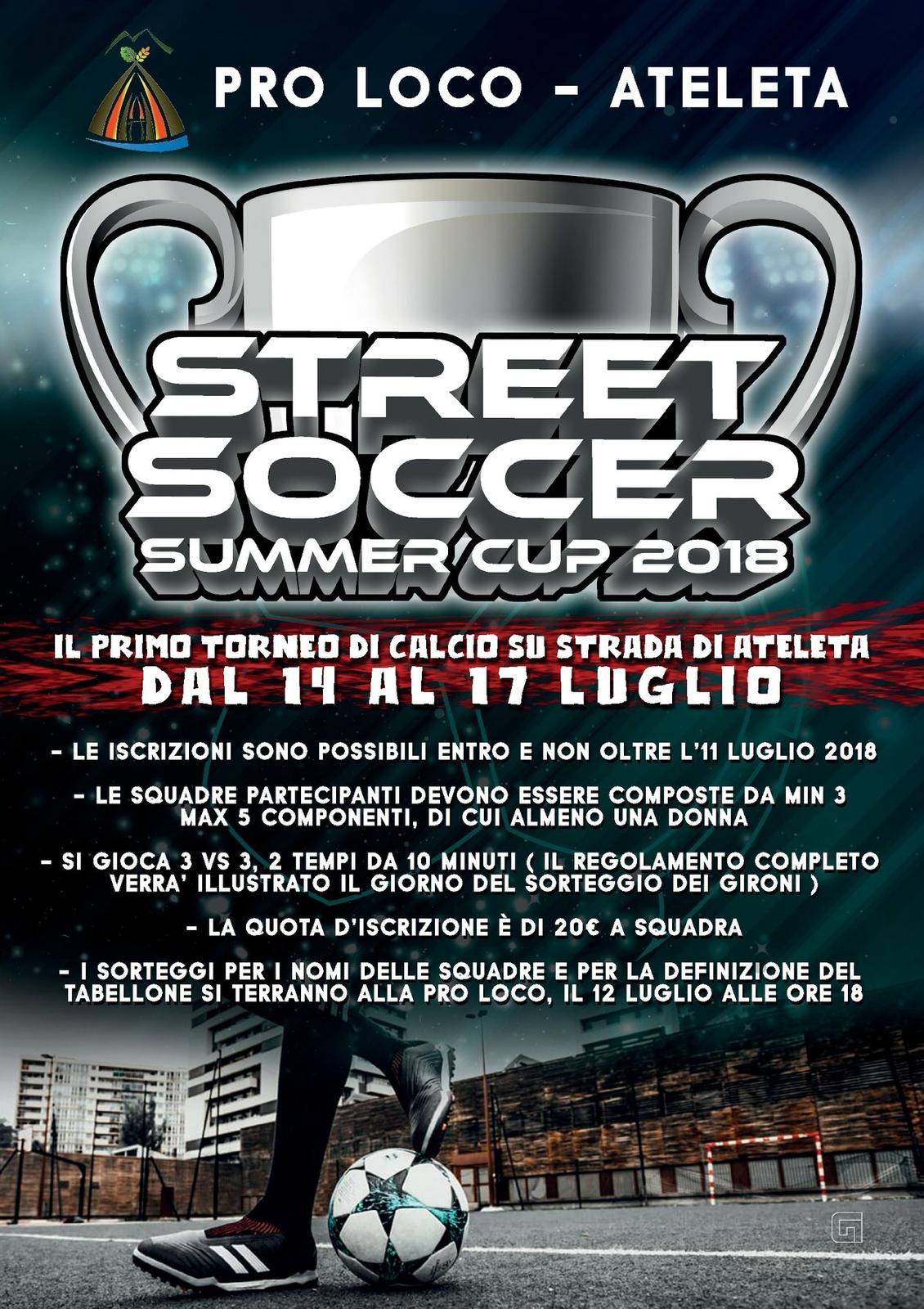 Street soccer summer cup 2018 Ateleta