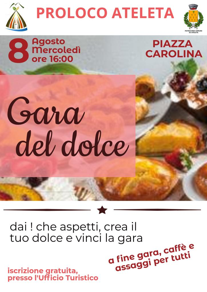 Gara del dolce - Pro Loco Ateleta