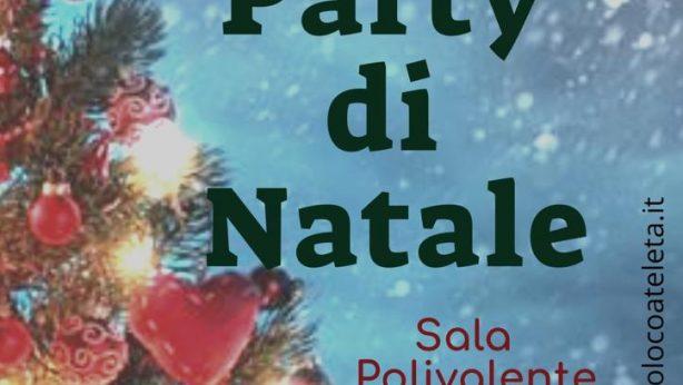 Party di Natale 2018 - Pro Loco Ateleta